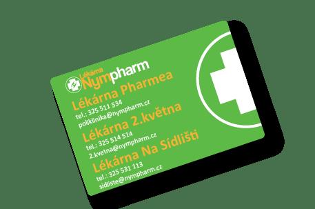 lékárna Nymburk výhody karty Nympharm